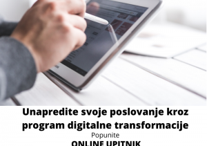 DIgitalna TRANSFORMACIJA ONLINE UPITNIK